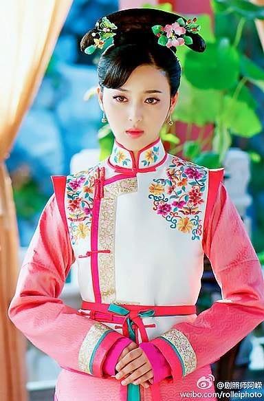 Asia chinese girl wearing cheongsam traditional shanghai dress