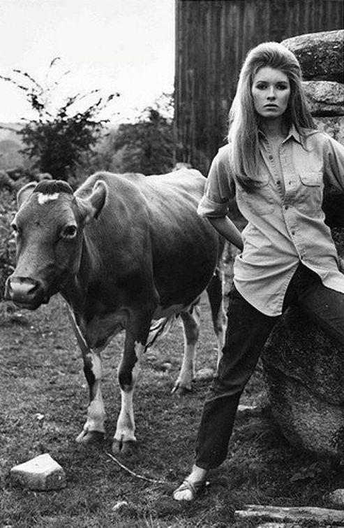 martha stewart age 20 via popowwowcom artphoto