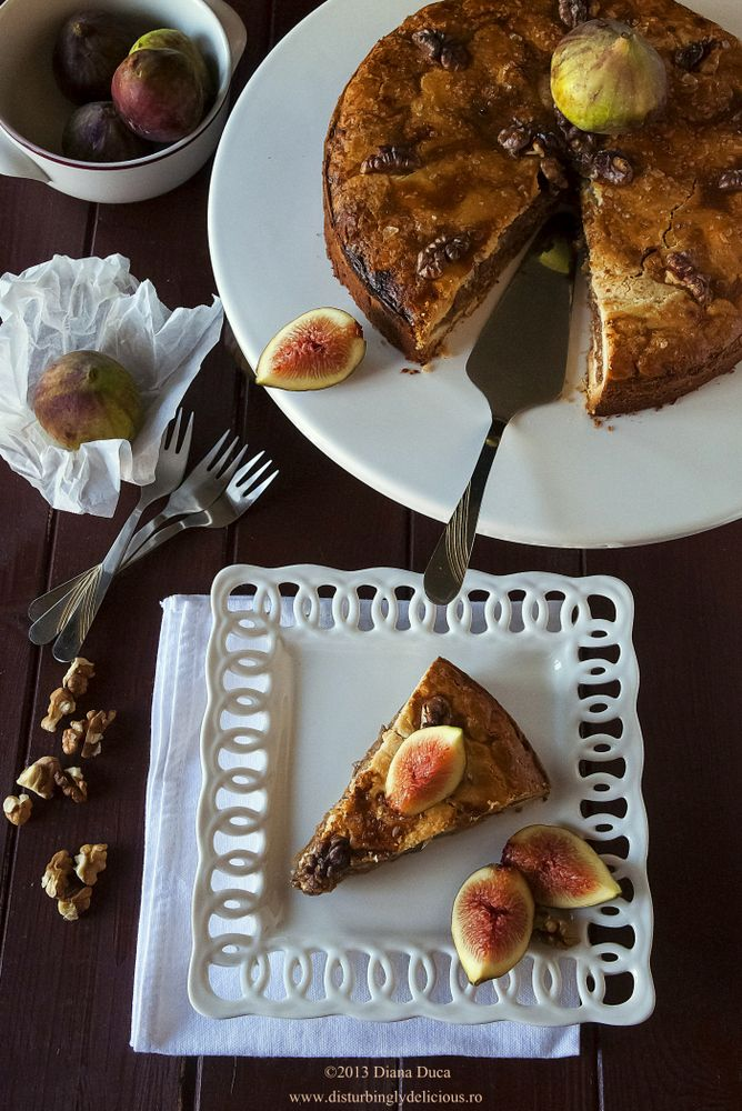 Spiced Honey Cake With Caramelized Figs Recipes — Dishmaps