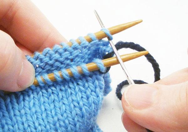 Knitting Kitchener Stitch Grafting : Kitchener Stitch Grafting Knitting Pinterest
