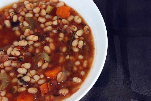 Fasolada (Greek Navy Bean Soup) | Recipe Soup | Pinterest
