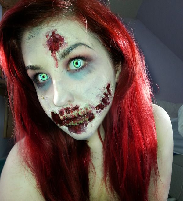 Zombie Girl | Makeup | Pinterest