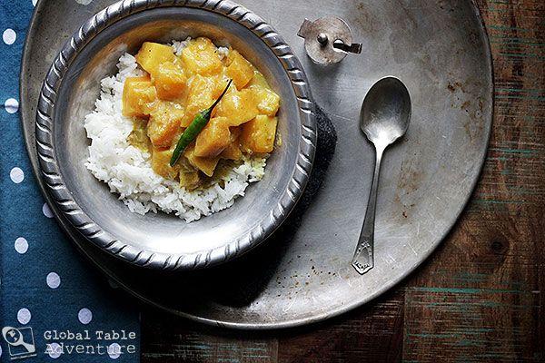 Green PawPaw Curry   Recipe