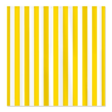 Yellow Striped Shower Curtain  Main bathroom  Pinterest