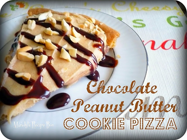Chocolate-Peanut Butter Cookie Pizza | Food~i bake Cupcakes and Cooki ...