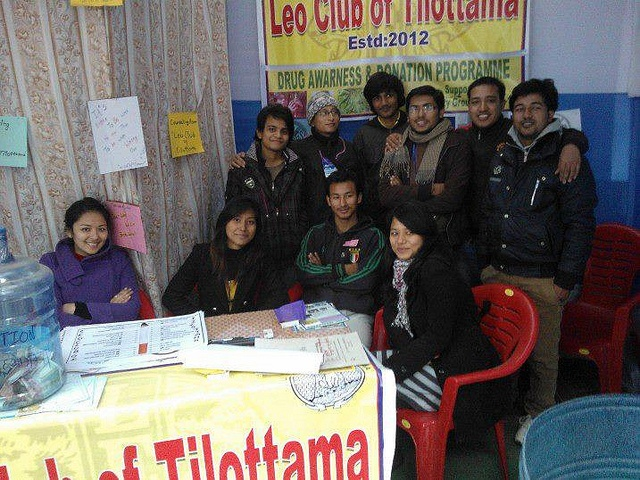 Tilittam leo club nepal leos organized an anti drug caign and