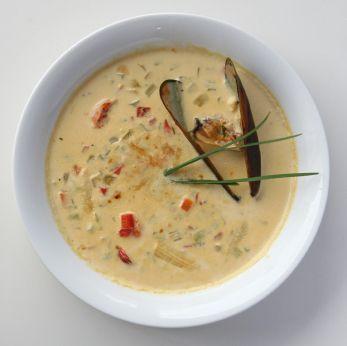 Seafood Arepa Soup   Recipe