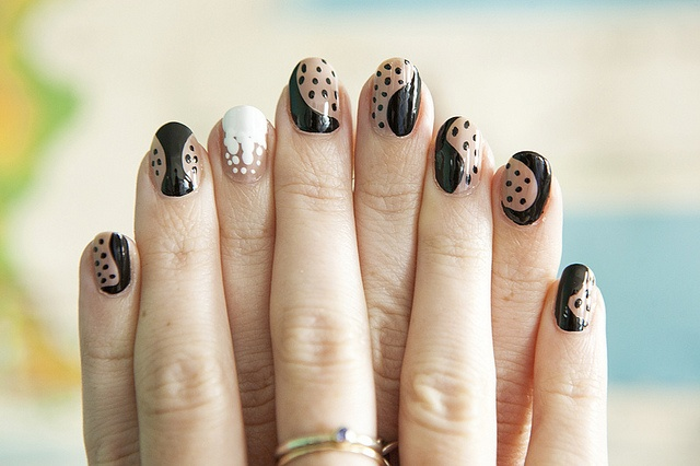 Stella McCartney Fall 2011-Inspired Nails 11 by ebmonson, via Flickr