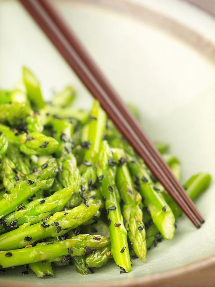 Stir-Fry Asparagus in a Flash