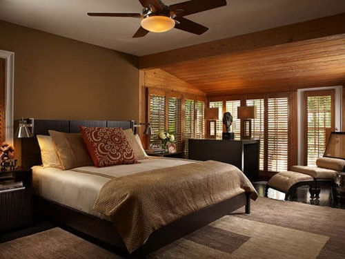 Bedroom in warm earth tones for the home pinterest Earth tone bedroom