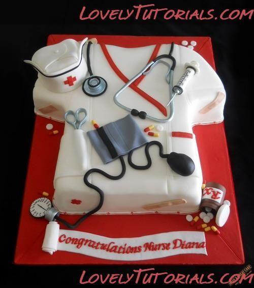Nursing Cake Cake---Doctors/Dentist/Nurses/EMT/ Medicial ...