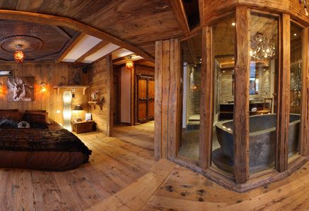 Amazing Master Bedroom And Bath Ski Lodge Pinterest