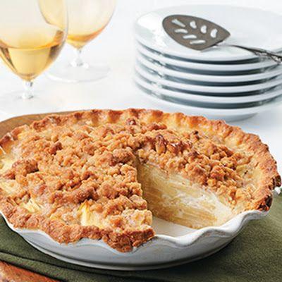 Sour Cream Apple Pie | recipes | Pinterest