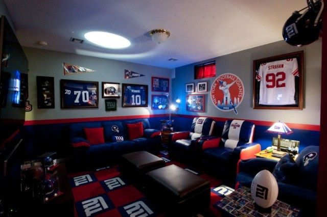 Ny Giants Man Cave Ideas : Guest room inspiration ny giants pinterest