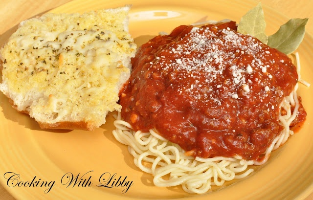 Slow Cooker Spaghetti Sauce | Favorite Recipes | Pinterest