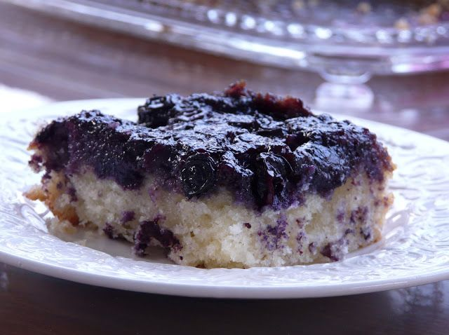 blueberry upside down cake | For the Sweet Tooth | Pinterest