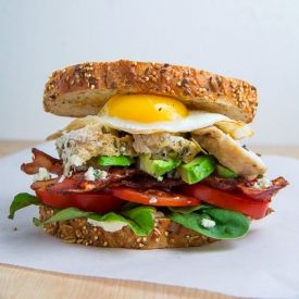 Roast Turkey Cobb Sandwich   Dreaming on and on   Pinterest