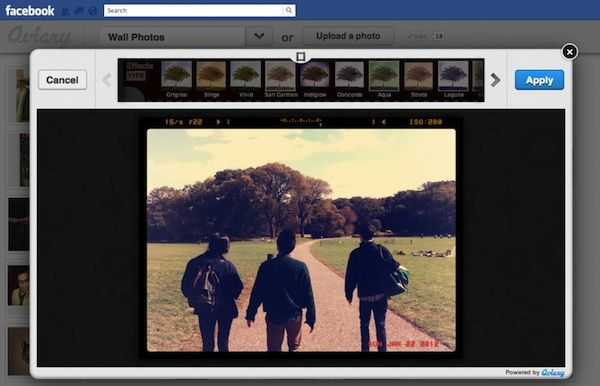 Facebook Photo Editing App Offers Instagram-Like Appeal