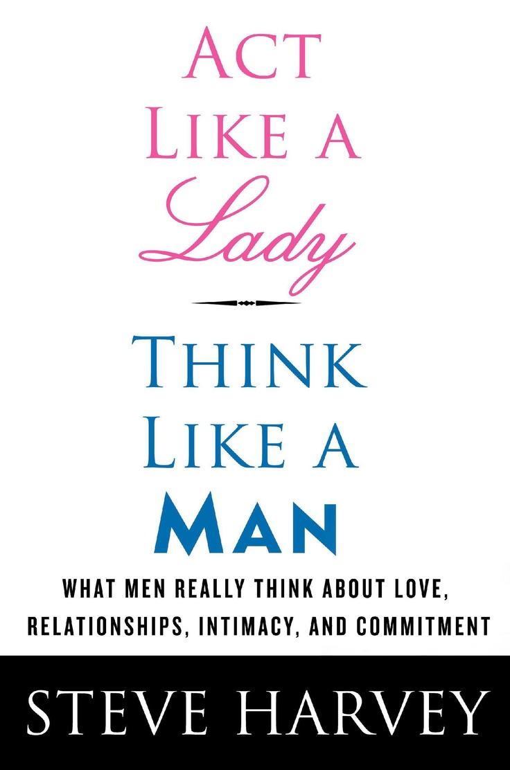 review act like a lady think like a man book