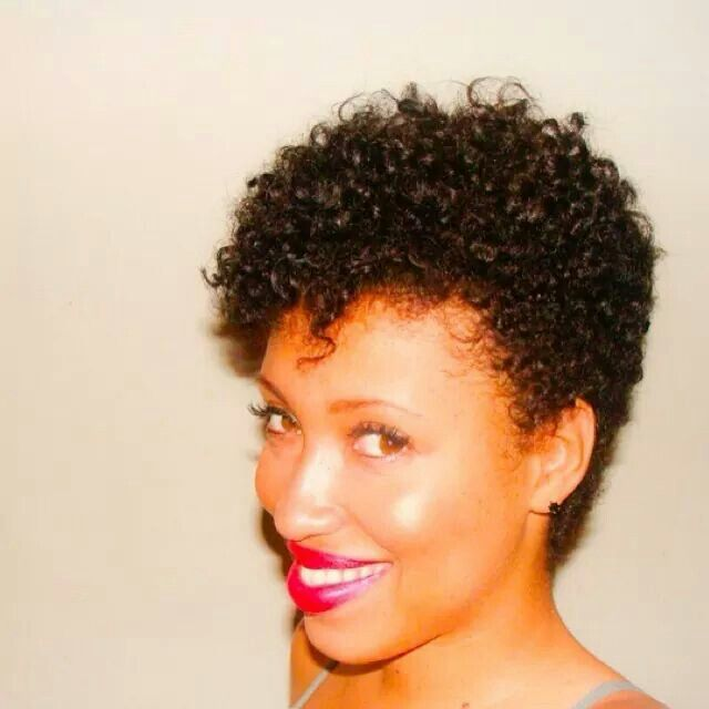 Love this!!!! | Tapered Natural Hairstyles | Pinterest