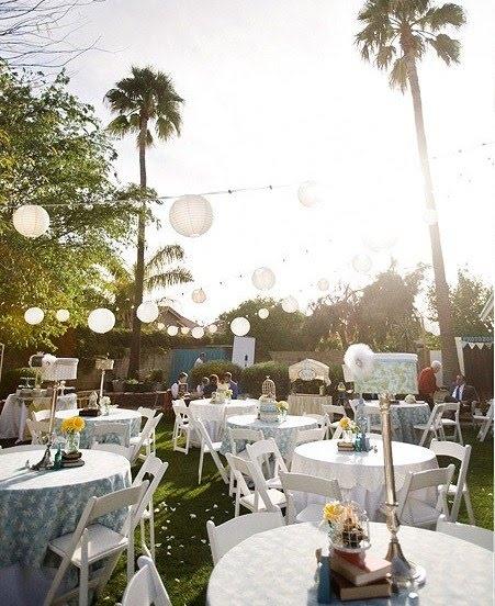 Diy Wedding In Backyard : Backyard Weddings