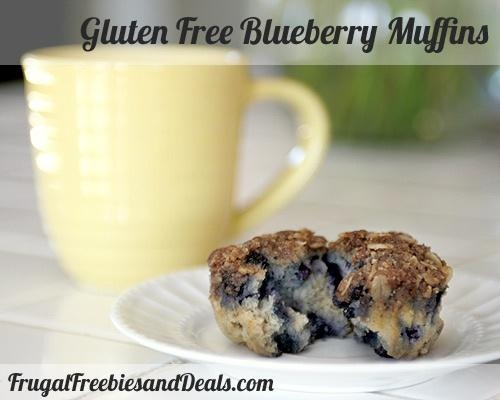 Gluten Free Blueberry Muffins Recipe would omit the almonds since I'm ...
