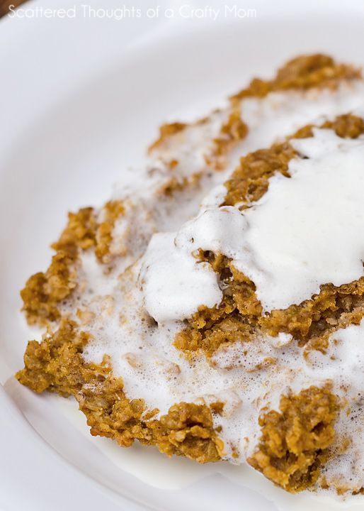 Baked Pumpkin Pie Oatmeal | Recipe