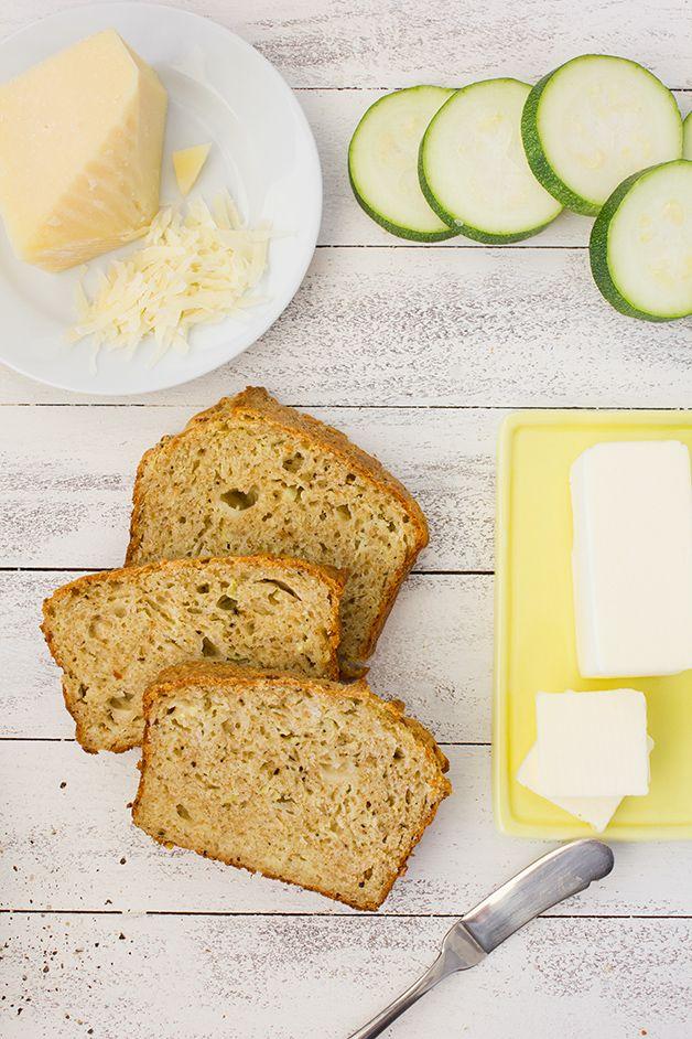 Savory Zucchini Bread
