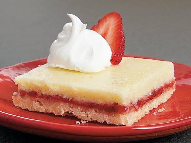 Strawberry Lemon Bars | Desserts | Pinterest