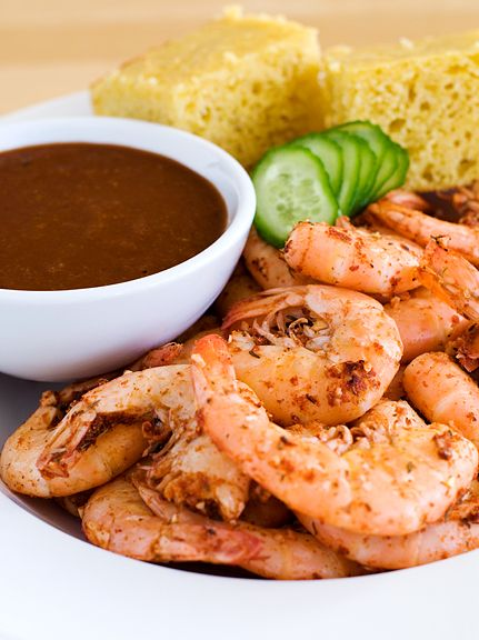 Drunken Spicy Shameless Shrimp with Brazen Cocktail Sauce (Jennifer Yu ...