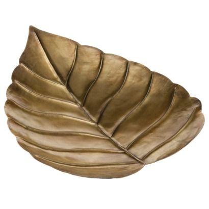 Nate Berkus Gold Leaf Tray