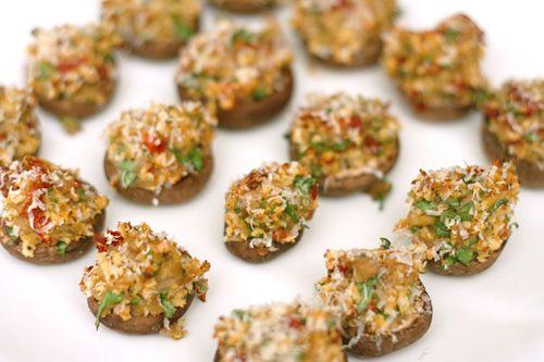 Sundried Tomato Stuffed Mushrooms Recipes — Dishmaps
