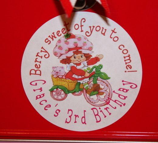 """Vintage Strawberry Shortcake"" | Catch My Party"