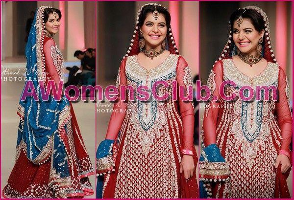 zainab chottani collection pantene bridal couture week