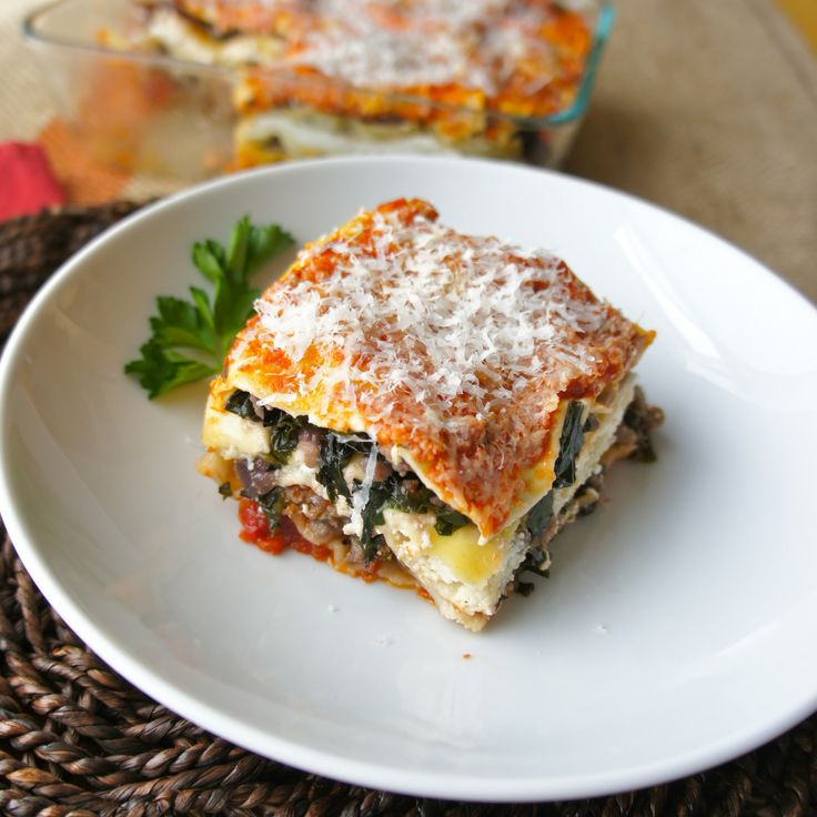 Kale Lasagna 1 | Pasta | Pinterest