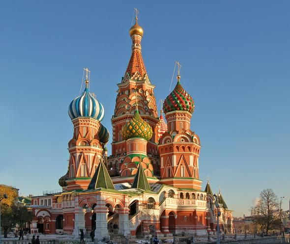 Moscow, St. Basil's Cathedral, even more amazing in person!!