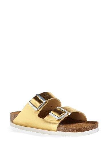 Birkenstock 'Arizona' Soft Footbed Leather Sandal (Women)