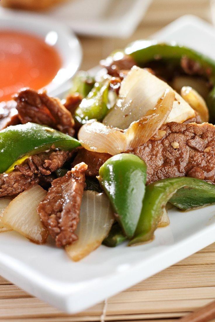 Slow Cooker Pepper Steak   KitchMe .   yummy   Pinterest