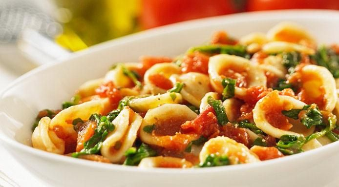 ... cherry tomatoes orecchiette with cherry tomatoes and arugula recipes