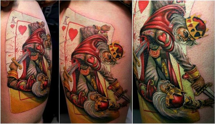 Suicide king tattoo ideas pinterest for Suicide kings tattoo