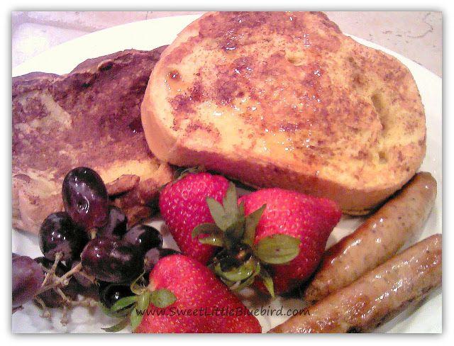 fluffy french toast | Breakfast | Pinterest