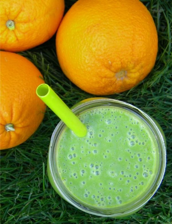 Green Orange Creamsicle Smoothie - 9 Healthy Vegan Smoothie Recipes ...
