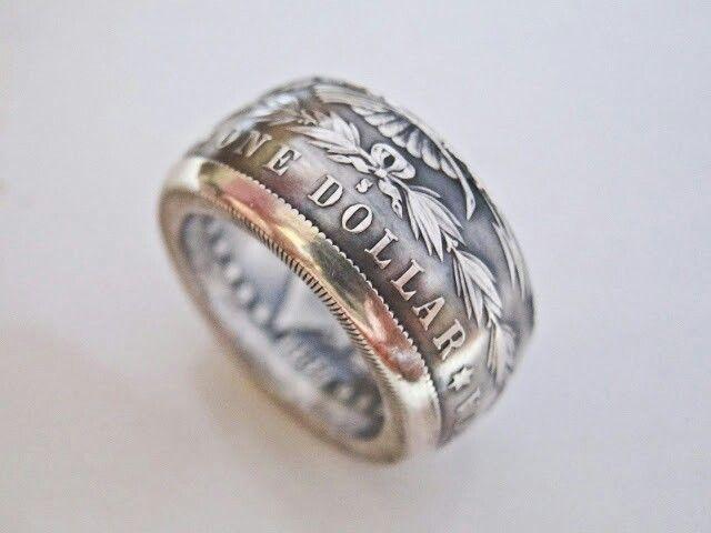 Half Dollat Ring