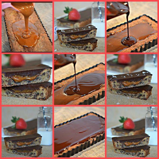 CHOCOLATE GLAZED, SALTED CARAMEL