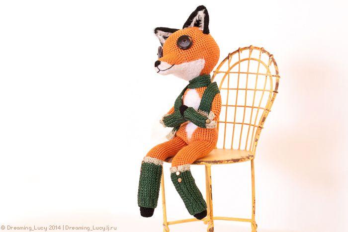 Fantastic Mr. Fox Fox girl crochet toy. | Amigurumi | Pinterest