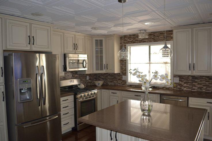 mobile home kitchen remodel my little mobile home renovation pinterest. Black Bedroom Furniture Sets. Home Design Ideas