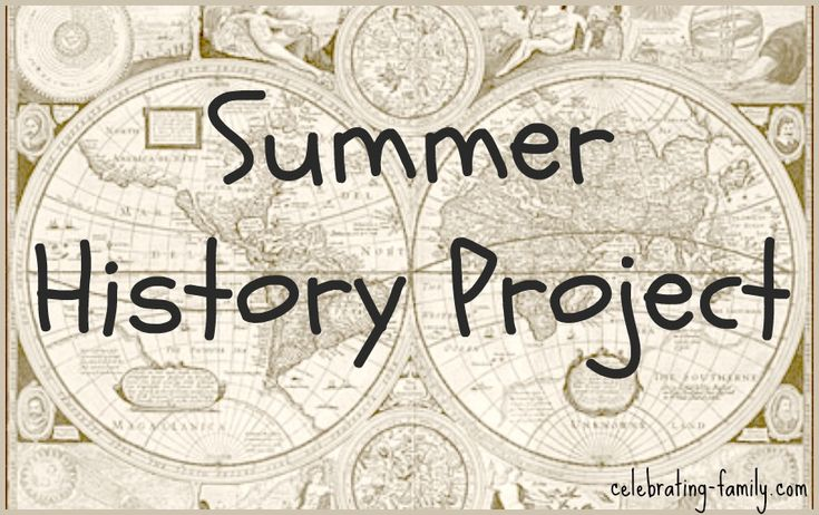 Summer history project teaching history and geography pinterest