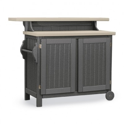 Counter Height Portable Table : Bar Take the party with you with this Portable Bar / Buffet Table ...