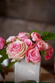 #wedding #green #pink #gold