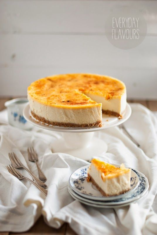 Creme Brulee Cheesecake | Desserts and Everything Sweet | Pinterest